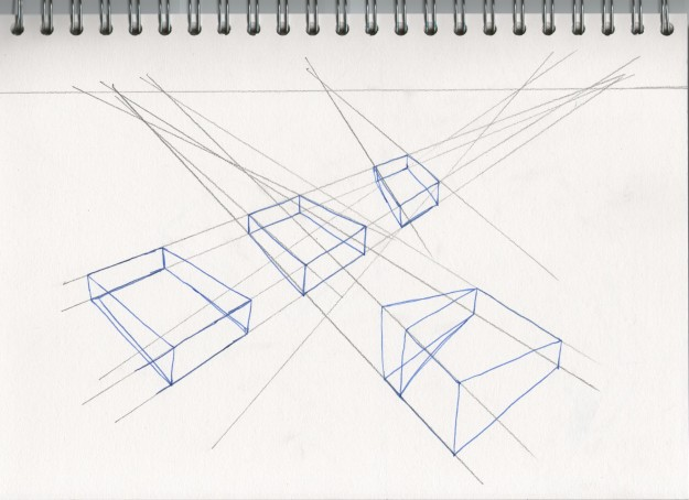 Line Drawing Using Direct Method : Project perspective eve s art